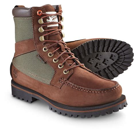 mens moc toe boot s timberland 174 newmarket 9 quot moc toe boots brown