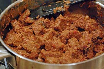 Rendang Selamat Asli Padang resep rendang padang kering asli spesial enak info resep masakan nusantara hari ini