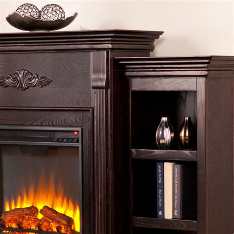 tennyson bookcase electric fireplace tennyson electric fireplace with bookcases