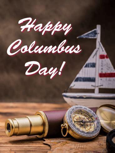 columbus day cards  happy columbus day   birthday greeting cards  davia