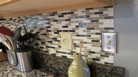 peel and stick backsplash peel and stick kitchen
