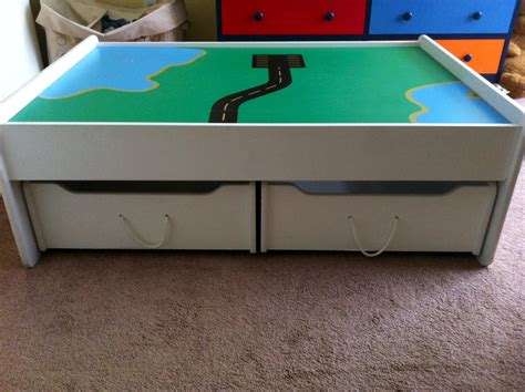 train bench train table plans with drawers