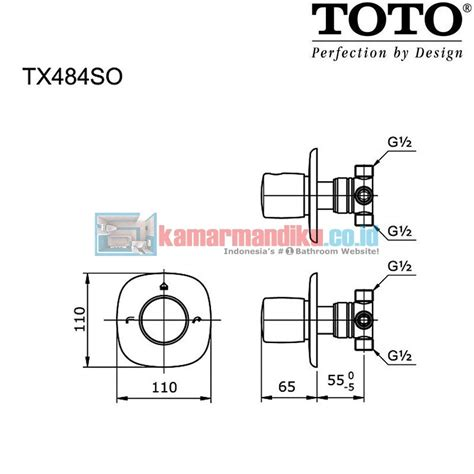 Shower Set With Stop Valve Toto Tx402sp 1 toto tap tx484so stop valve shower bath distributor