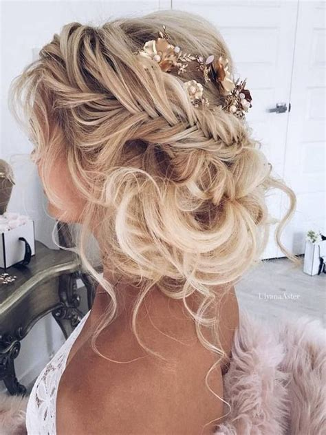 Wedding Updos Braids by 10 Pretty Braided Hairstyles For Wedding Wedding Hair
