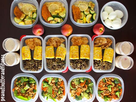Food Prep Meals by Meal Prep Week Of May 18th Peanut Butter And Fitness