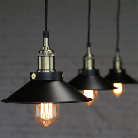 lighting fictures industrial vintage pendant loft lshade ceiling light