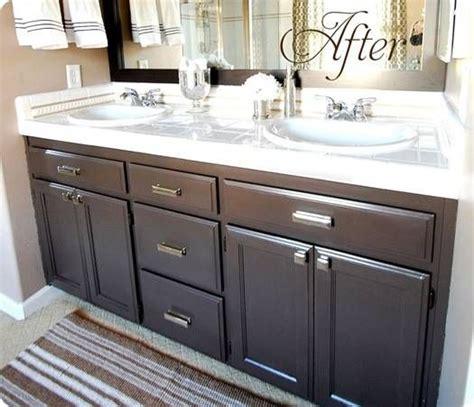 Redo Bathroom Cabinets - redo bathroom vanities on light fixture