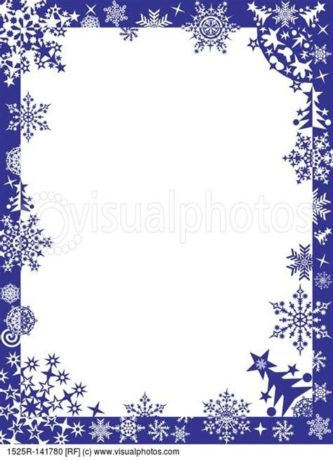 Snowflake Border For Word Free » Home Design 2017