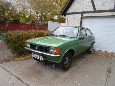 opel kadett 1978 curbside 1978 opel kadett city berlina the