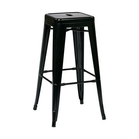 hton bay vernon hills backless stacking patio stools 2