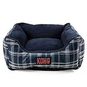 kong bolster bed by ko pet supplies blue