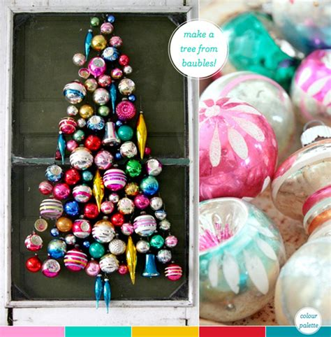 how to decorate christmas baubles a last minute colourful decorating idea bright bazaar by will