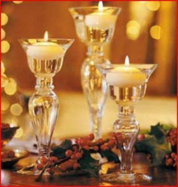 decorar velas de navidad hacer velas para navidad cena