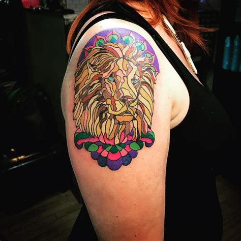 75 dazzling stained glass tattoo ideas nothing less than