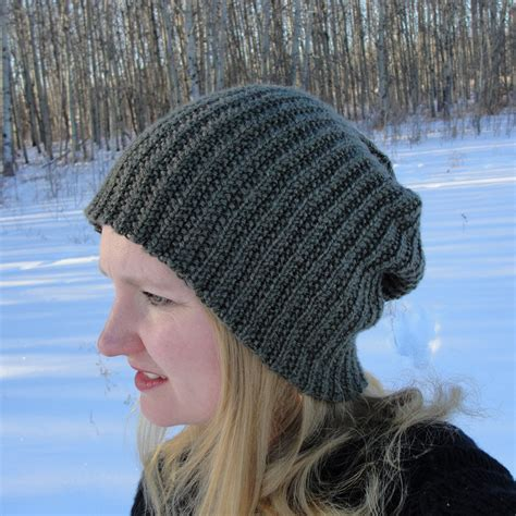 beanie knit hat pattern knit hat pattern brock beanie toque slouch