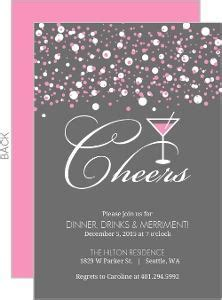 Raise Your Glass Surprise Party Invitations   New Year's