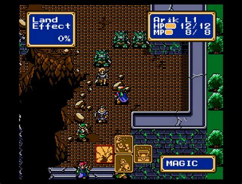 emuparadise sega shining force usa rom