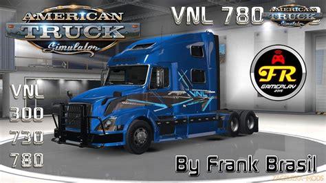 volvo truck shop volvo vnl 780 truck shop v3 0 by frank brasil 1 6 x
