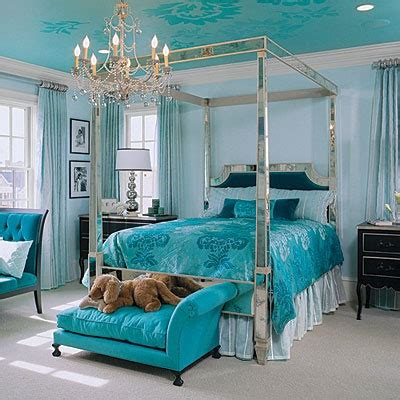 blue silver bedroom love silver and blue but would like more of a tiffany