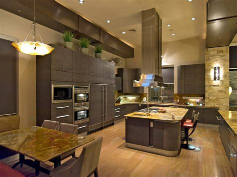 kitchen cabinets for tall ceilings dark kitchen cabinets and light wood floors quicua com
