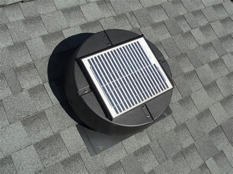 solar powered attic fan powered attic fans don t waste your homesmsp