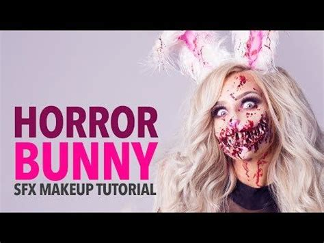 zombie bunny tutorial 710 best special effects halloween theatrical stage make