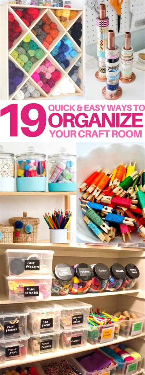 ideas to organize room 25 best ideas about craft room organizing on