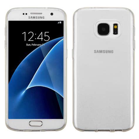 Gea Ipaky Design Samsung S7 G930 Soft Frame Diskon samsung galaxy s7 g930 semi transparent white cover cellphonecases