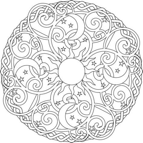 moon mandala coloring pages 17 best images about coloring book on pinterest coloring
