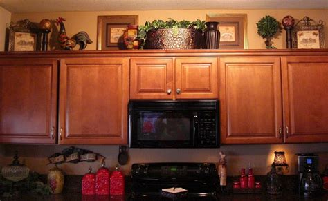 decorate top of kitchen cabinets no place like our home kitchen tour