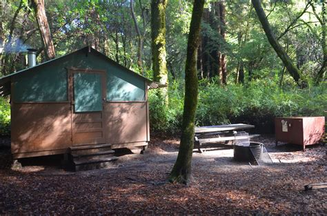 Tent Cabins Northern California by Big Basin Redwoods State Park Cing
