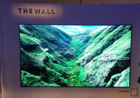 samsung is ready to build a 146 inch tv wall in your house