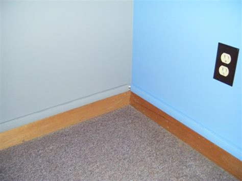 run cable  baseboard extravagant   hide wiring