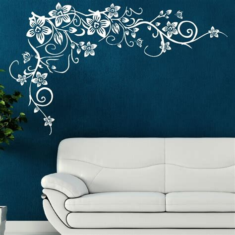 celtic vine corner giant wall decoration wall stickers store uk flower tree wall butterfly vine art stickers decals