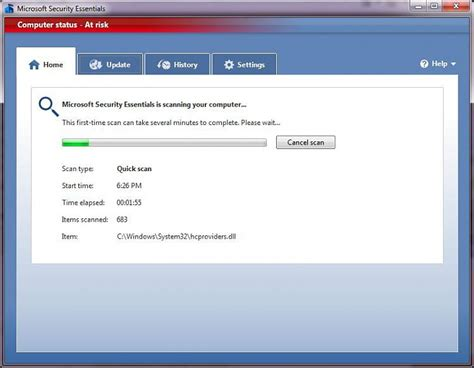 microsoft security essentials windows 7 help forums