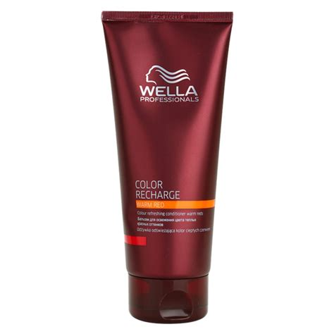 color conditioner wella professionals color recharge colour refreshing