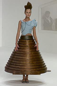 Hussein Chalayan Coffee Table Dress Gaga The Fashaddict