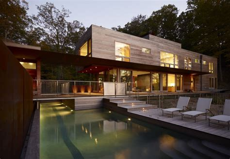 libro retreat the modern house fire lane retreat contemporary pool chicago by wheeler kearns architects