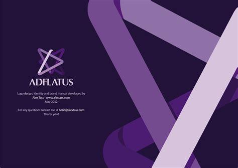 Logo design by Alex Tass Adflatus interior design logo, identity design, brand manual