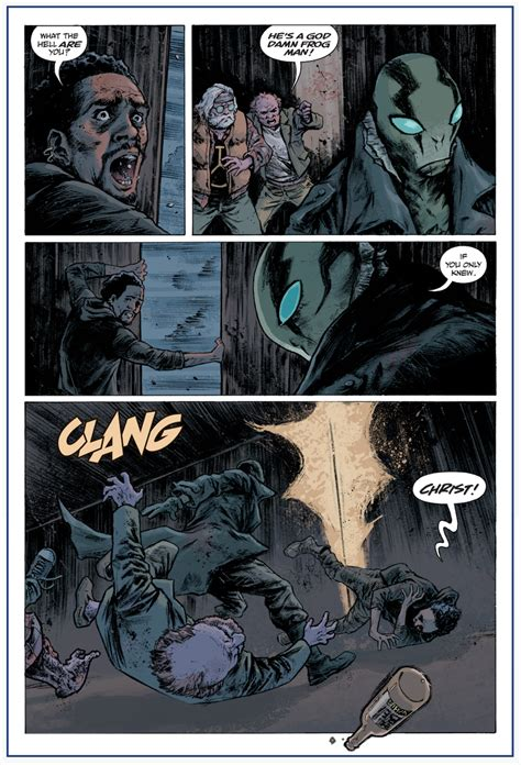 abe sapien dark and previews first look abe sapien dark and terrible 1 previews world