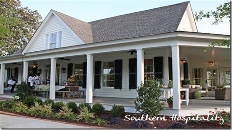 Farmhouse Plans Southern Living | country house plans with porches southern living house