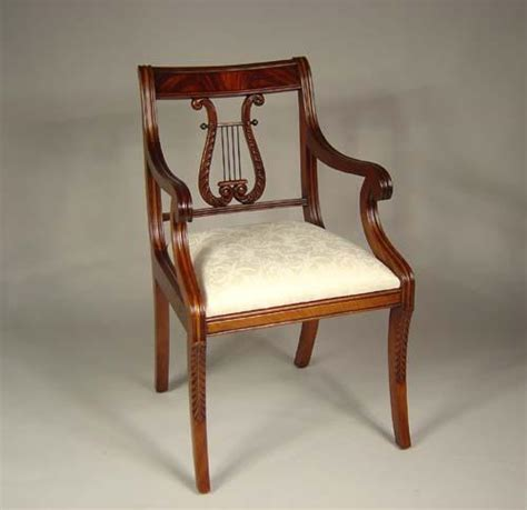 lyre back chairs antique lyre back dining room chairs solid mahogany schmieg