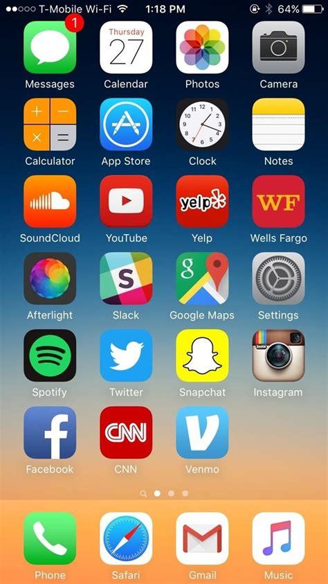 iphone layout ideas tumblr come reimpostare il layout della schermata home del tuo iphone