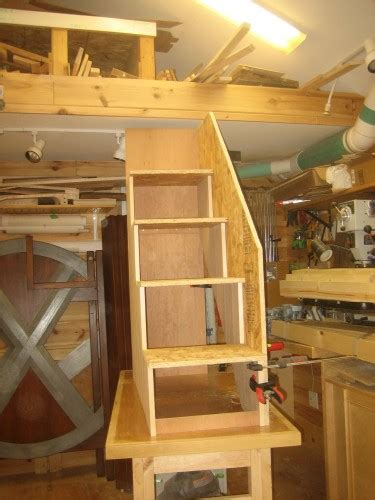 How To Build Bunk Bed Stairs 187 Plans To Build A Loft Bed With Stairs Pdf Plans To Build Bunk Bedsfreewoodplans