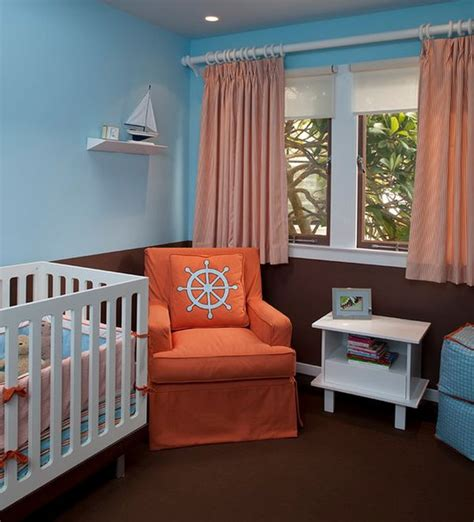 17 Nursery Room Themes Chic Ideas For Stylish Decors Blue And Brown Nursery Decorating Ideas