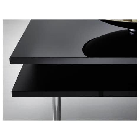 Tofteryd Coffee Table High Gloss Black 95x95 Cm Ikea Gloss Black Coffee Table