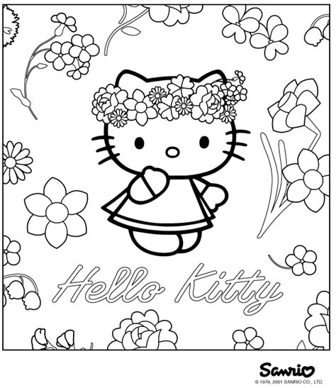 hello kitty new year coloring pages disegni da colorare di hello kitty hello kitty mania