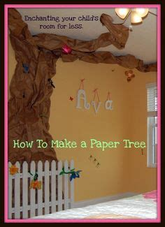 How To Make A Board Out Of Paper - 1000 ideas about paper tree classroom on