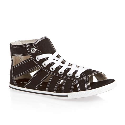 sandals converse converse chuck all gladiator sandals black