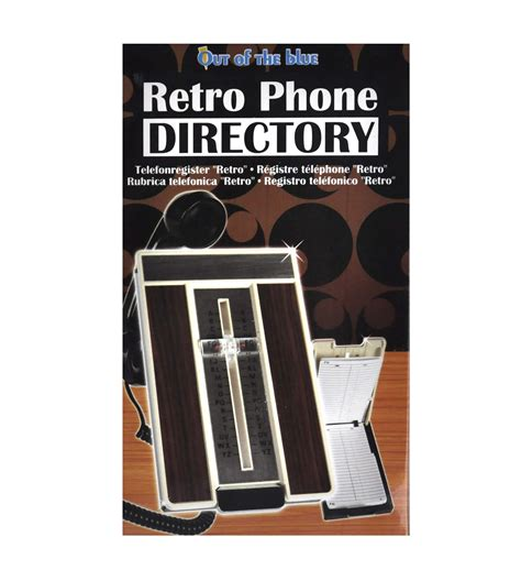 Phone Book Address Retro Phone Directory Automatic Personal Telephone Address Book Pink Cat Shop